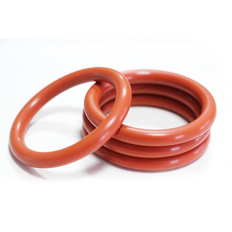 Calor resistente a altas temperaturas fkm sello rojo o anillos