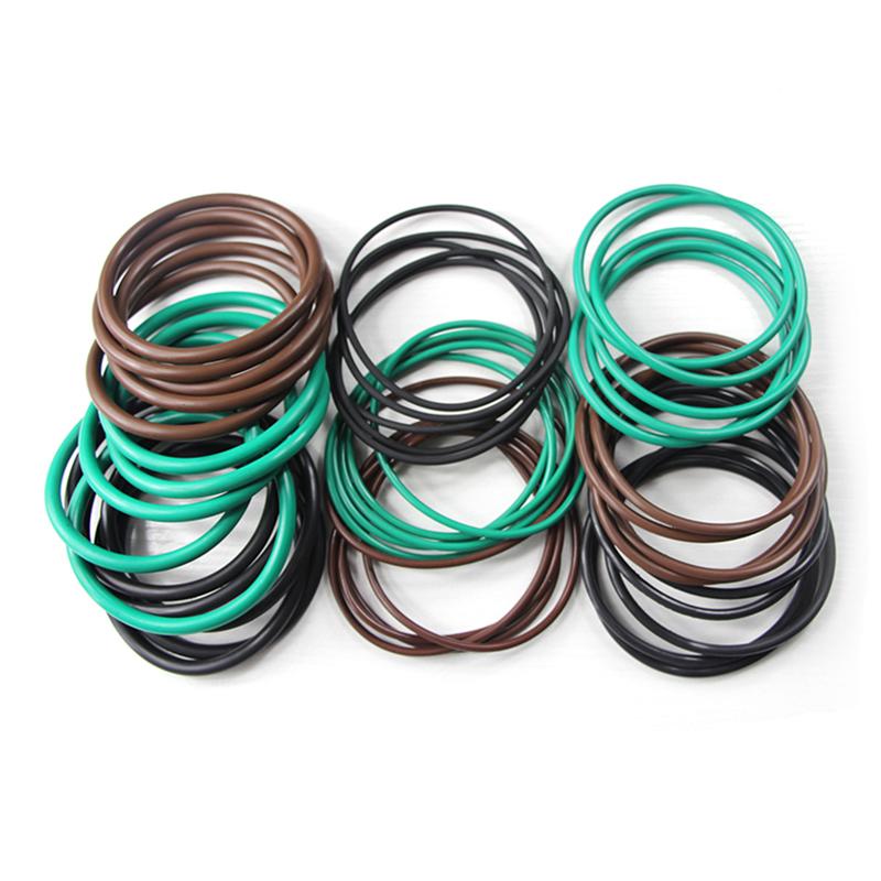 Respetuoso con el medio ambiente en stock AS568 RoHS Fluorocarbon FKM O ring