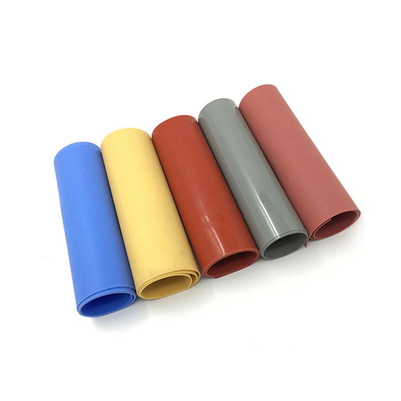 Colorido neopreno protección del medio ambiente EPDM NBR FKM Lámina de caucho de silicona