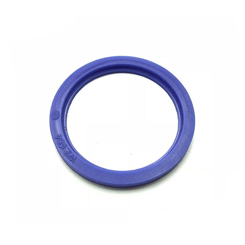 Junta de abrazadera de silicona de férula azul de diferentes tamaños estándar