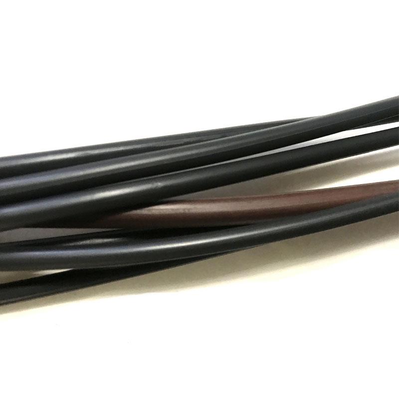 Cordón de goma flexible cordón de goma cuerda elástica