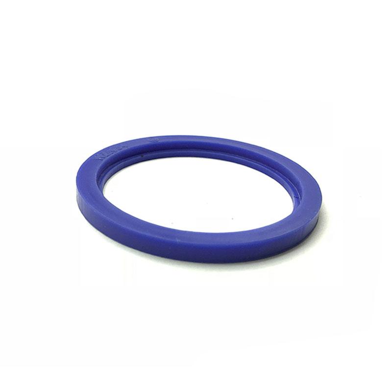 Juntas de silicona SMS redondas de unión azul redonda